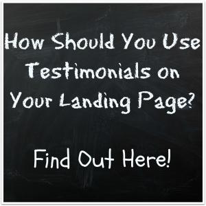 testimonial landing page template