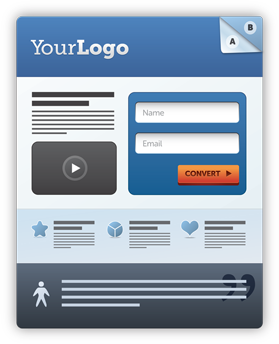 create landing pages easily