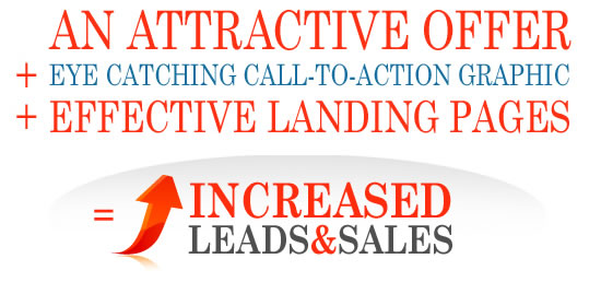 offer call to action landing page